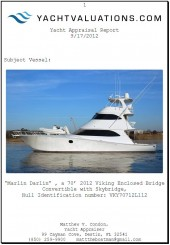 yacht appraisal report
